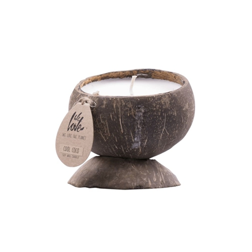 Coconut candle Charming Chestnut